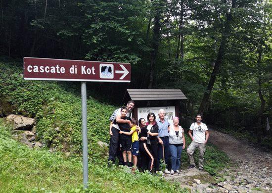 Le cascate Kot rientrano tra cosa vedere nelle Valli del Natisone