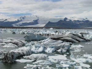 Ghiacciaio di Vatnajokull in Islanda