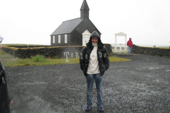 Chiesetta del villaggio di Budir in Islanda