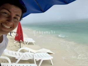 Acquazzone alle Maldive
