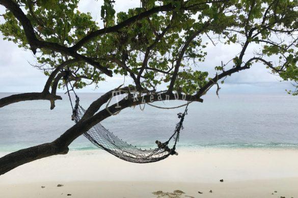 Amaca spiaggia e relax alle Maldive