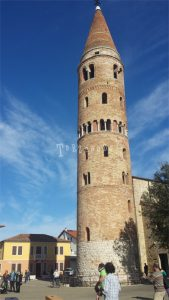 Caorle campanile del Duomo