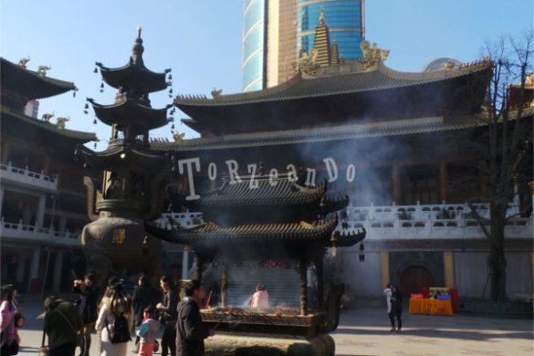 Tempio di Jing'An a Shanghai