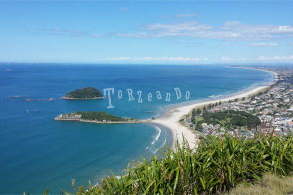 Il litorale di Mount Manganui