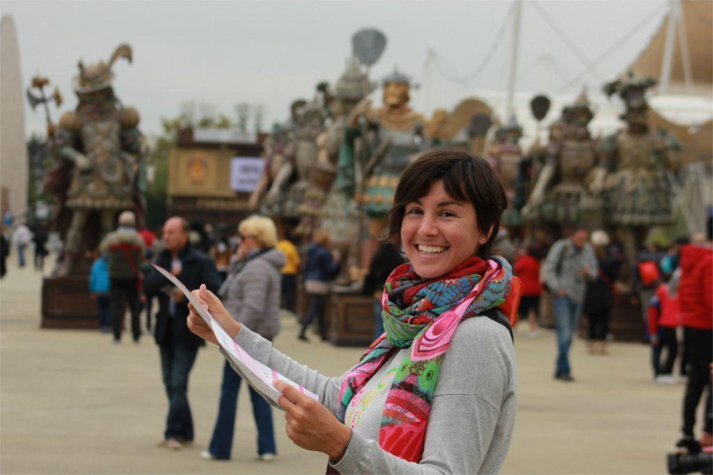 Mandi da Sara de Colle, Expo 2015 a Milano