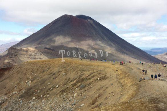 Il vulcano a Tongariro