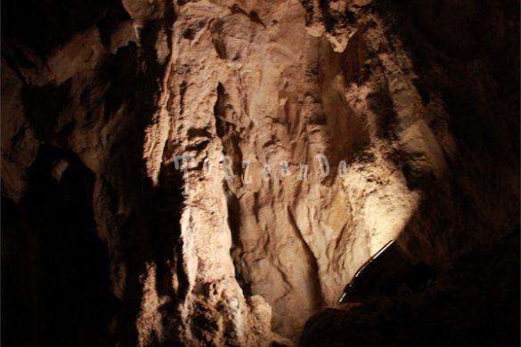 Cavità della grotta di San Giovanni d'Antro