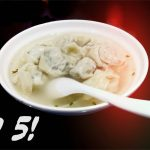 Zuppa di ravioli cinese