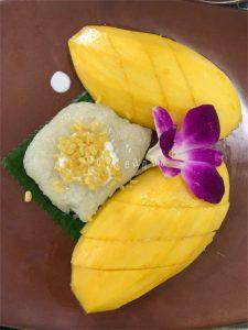 Riso mango e orchidea