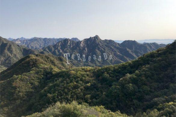 La Grande muraglia cinese a Mutianyu