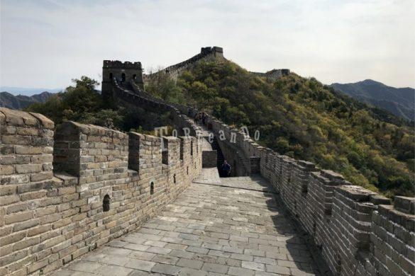 Un tratto della Grande Muraglia cinese