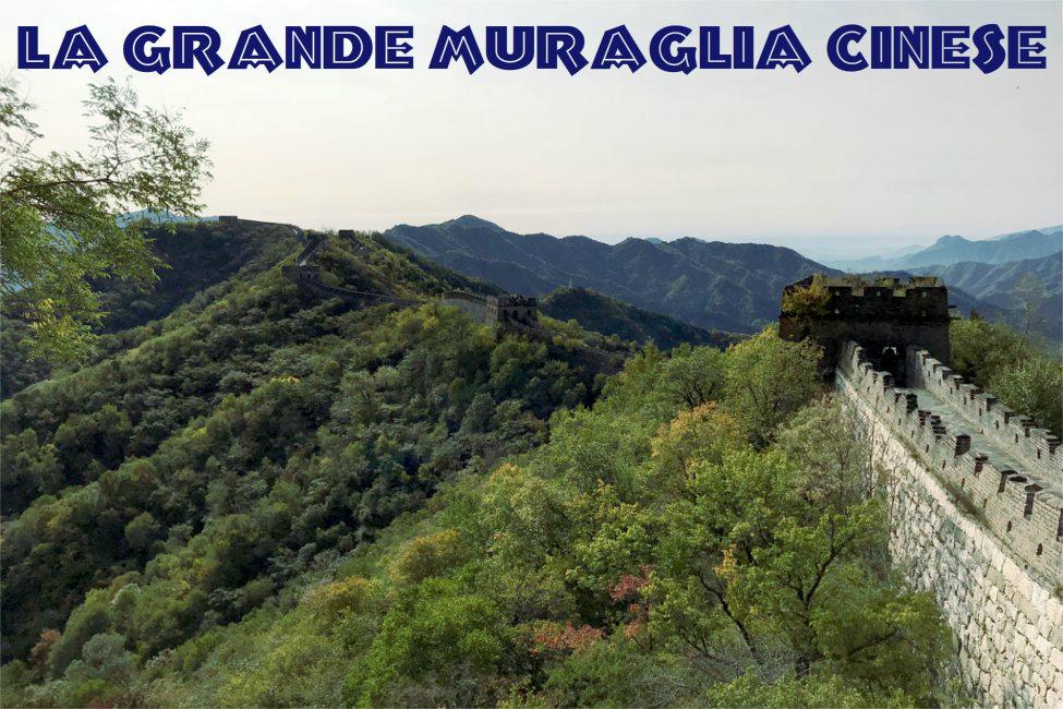 Grande Muraglia Cinese, paesaggio