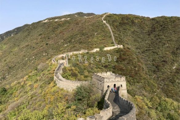 Scorcio della Grande Muraglia cinese