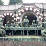 Tomba di Campari al Cimitero Monumentale di Milano