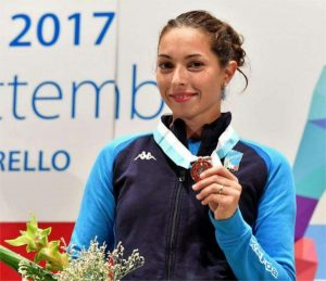 Mara Navarria, campionessa mondiale di spada 2017