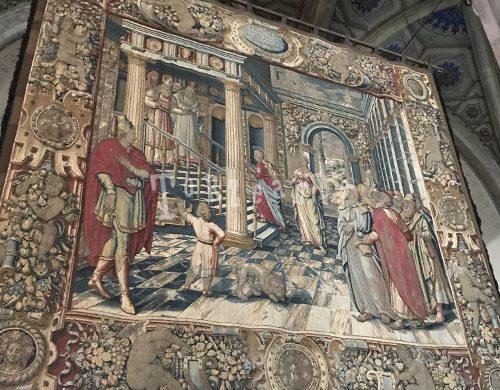 arazzo nella cattedrale di Como
