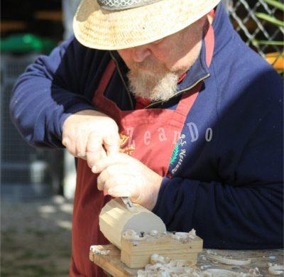 Artigiano al lavoro a Castelli Aperti