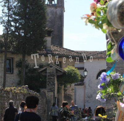 Entrata al borgo durante Castelli Aperti