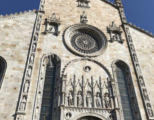 facciata della cattedrale di Como