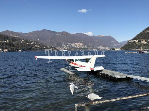 idrovolante sul lago di Como