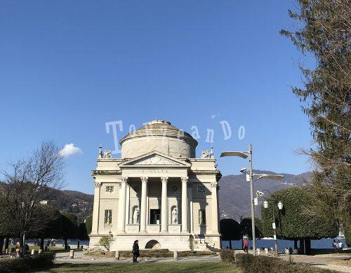 Tempio voltiano a Como
