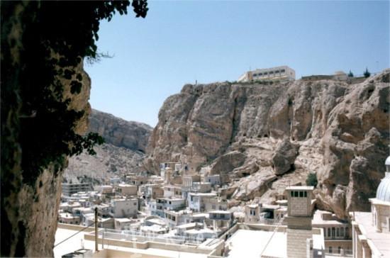 La città di Maaloula in Siria