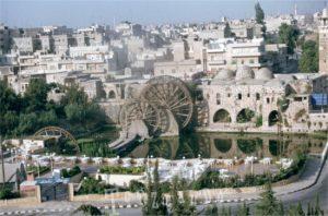 Mulini della Grande Noria di Hama in Siria