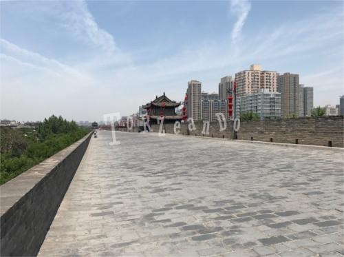 Prospettiva delle Mura di Xi'An
