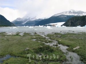 Lago Argentino in Patagonia