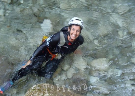 Canyoning in Val D'Arzino in Friuli Venezia Giulia