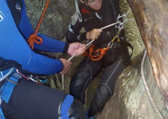 Imbragatura da canyoning