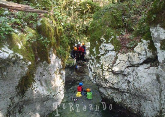 Canyoning in Friuli Venezia Giulia