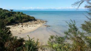 parco Abel Tasman in Nuova Zelanda