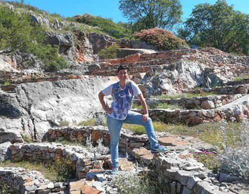 anfiteatro Sass de Belin nel carso goriziano