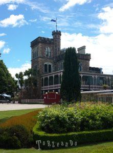 Il Castello di Larnach Isola del Sud in Nuova Zelanda