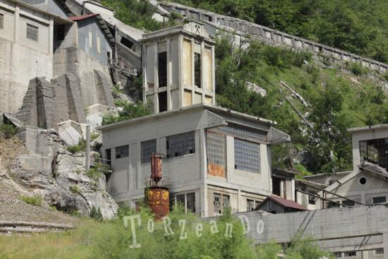 laveria della miniera di Cave del Predil