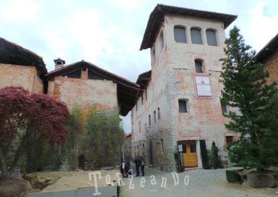 Biella edificio storico a Ricetto di Candelo