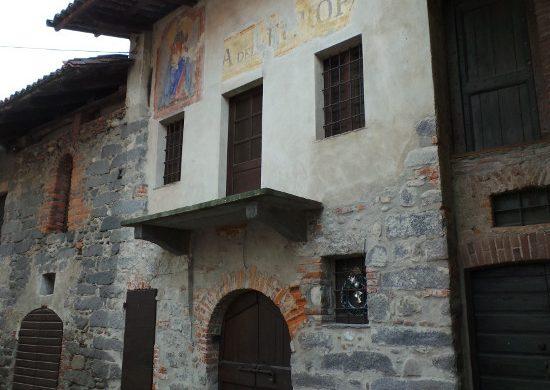 Edificio storico a Ricetto di Candelo