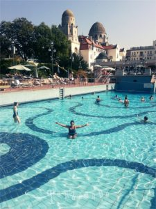 Terme Gellert a Budapest