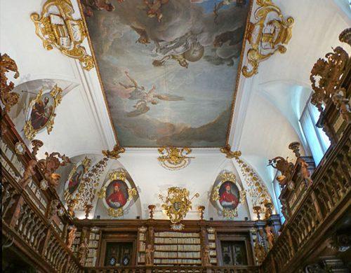 affresco del Tiepolo biblioteca gallerie Udine