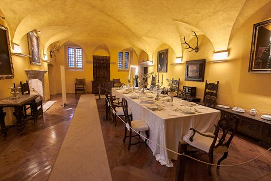 sala da pranzo palazzo coronini cronberg