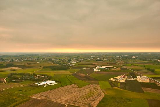 paesaggio friulano visto dalla mongofiera
