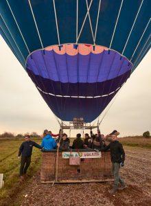 volo in mongolfiera in Friuli terminato