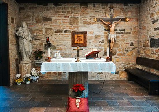 cappella nel santuario di Barbana