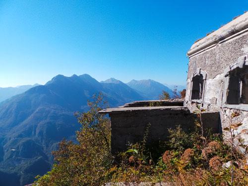 Forte della Grande Guerra sul Monte Festa