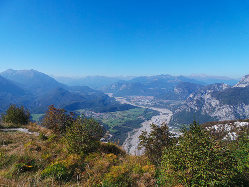 Panorama dal Monte Festa