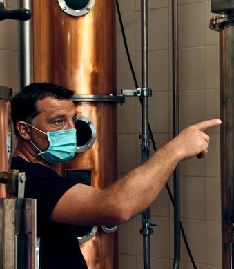 Matteo Gortani distilleria Casato dei Capitani
