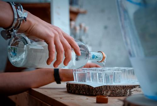 degustazione alla distilleria Casato dei Capitani