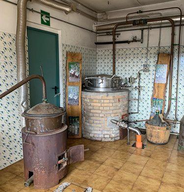 interno della distilleria Casato dei Capitani