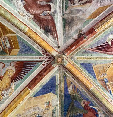 volta della chiesa dei Re Magi ad Arta Terme